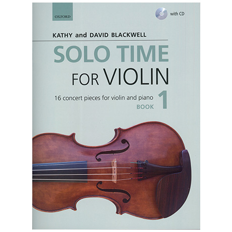 Blackwell, Kathy & David: Solo Time for Violin Book 1 (+CD)