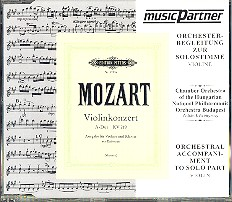 Mozart, W.A.: Violinkonzert Nr. 5 A-Dur, KV 219 Compact-Disc CD