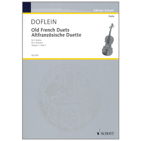 Doflein, E.: Altfranzösische Duette Band 1