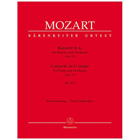 Mozart, W. A.: Klavierkonzert Nr. 17 KV 453 G-Dur