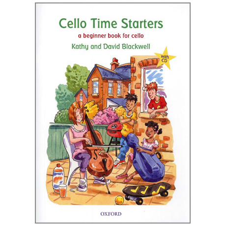Blackwell, K. & D.: Cello Time Starters (+CD)