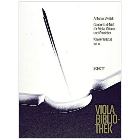 Vivaldi, A.: Konzert d-Moll nach RV 540, PV 266