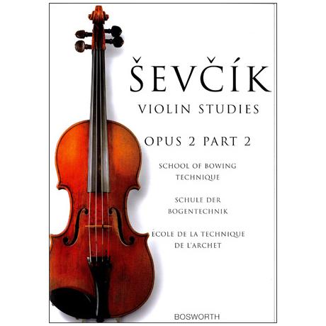 Sevcik, O.: Schule der Bogentechnik Op. 2, Heft 2