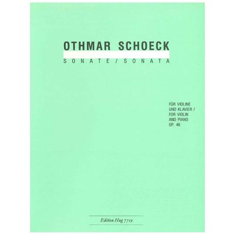 Schoeck, O.: Violinsonate Op. 46