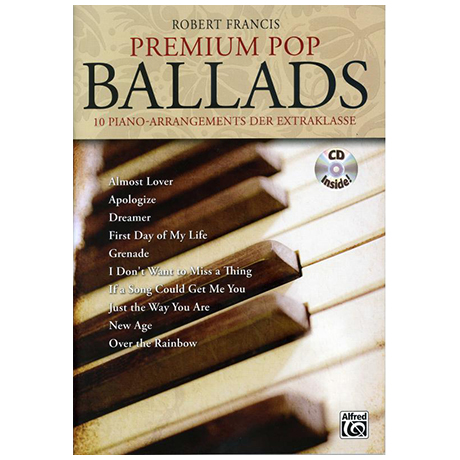 Francis, R.: Premium Pop Ballads (+ CD)
