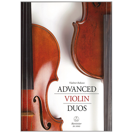 Bodunov, V.: Advanced Violin Duos