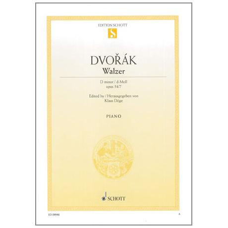 Dvořák, A.: Walzer d-Moll Op. 54 Nr. 7