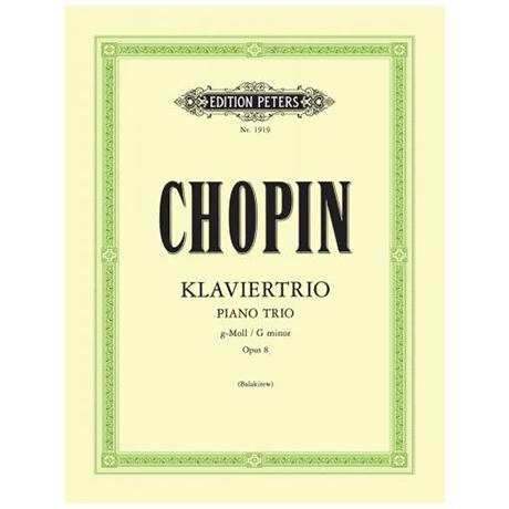 Chopin, F.: Klaviertrio g-moll, op. 8