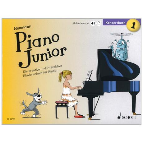 Heumann, H.-G.: Piano Junior – Konzertbuch Band 1 (+Online Material)