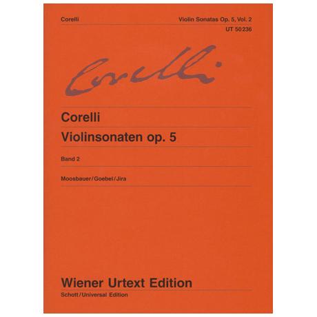 Corelli, A.: Violinsonaten op. 5 Band 2