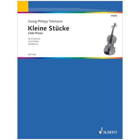 Telemann, G. Ph.: Kleine Stücke