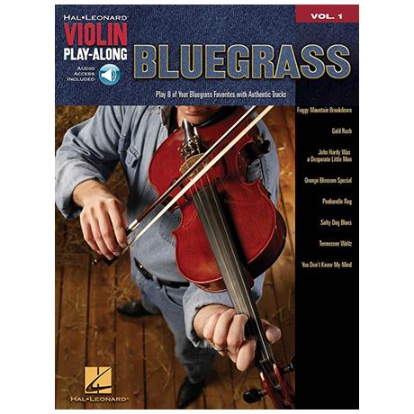 Violin Play-Along Vol.1: Bluegrass (+CD)