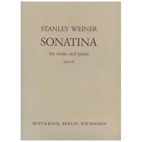Weiner, S.: Violinsonatine Op. 69