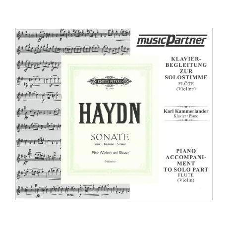 Haydn, J.: Violinsonate G-Dur nach Hob. III:81 Compact-Disc CD