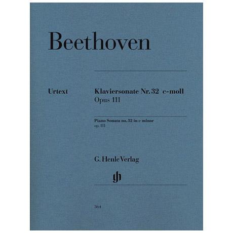 Beethoven, L. v.: Klaviersonate Nr. 32 c-Moll Op. 111