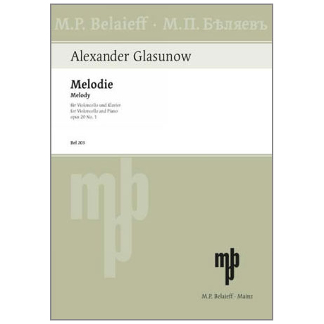 Glasunow, A.: Melodie Op.20 Nr.1