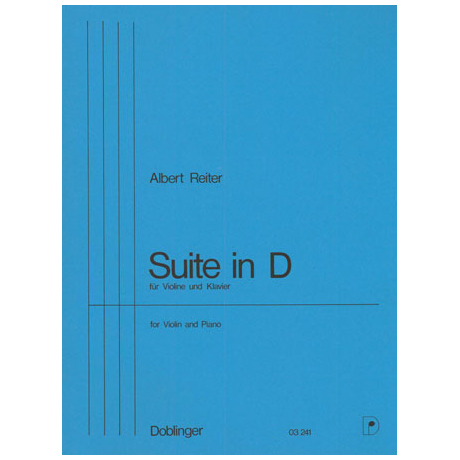Reiter, A.: Suite D-Dur