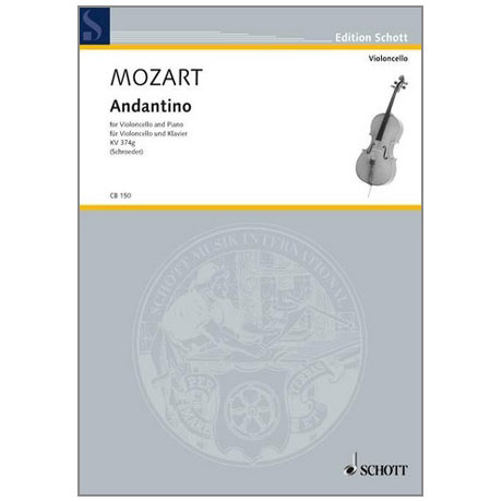 Mozart, W. A.: Andantino (Fragment) KV374g B-Dur