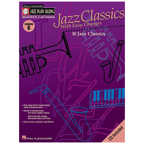 Jazz Classics with Easy Changes (+CD)