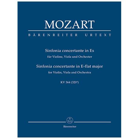 Mozart, W. A.: Sinfonia concertante für Violine, Viola und Orchester Es-Dur KV 364 (320d)