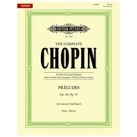 Chopin, F.: Préludes Op. 28 und 45