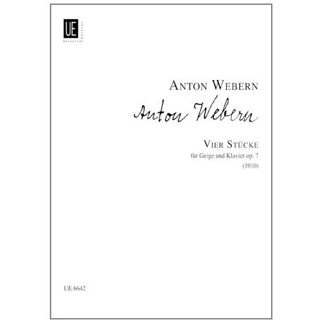 Webern, A.: 4 Stücke Op. 7