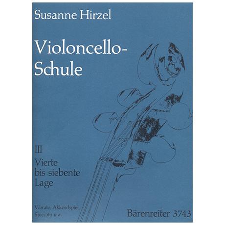 Hirzel, S.: Violoncello-Schule – Heft 3