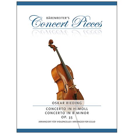 Rieding, O.: Violoncellokonzert Op.35 h-moll