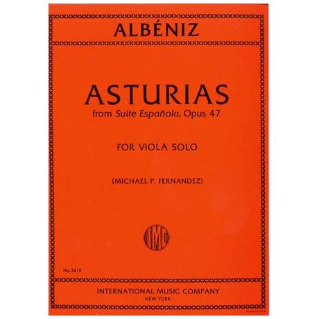 Albeniz, I.: Asturias aus »Suite Espagnole« Op. 47
