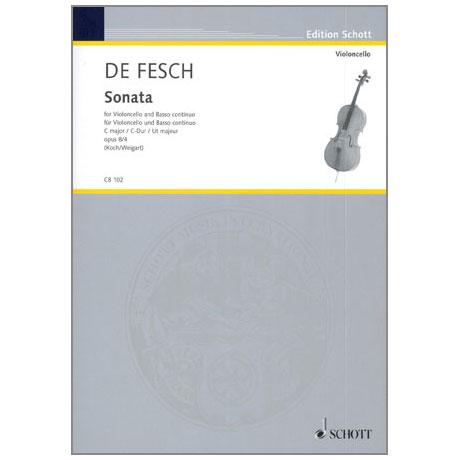 Fesch, W.d.: Sonata Op.8 Nr.4 C-Dur
