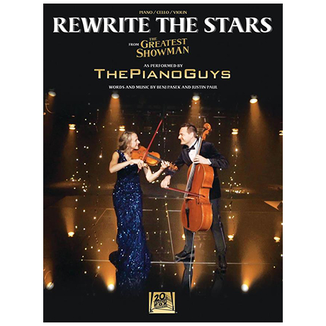 The Piano Guys: Rewrite the Stars (Pasek)