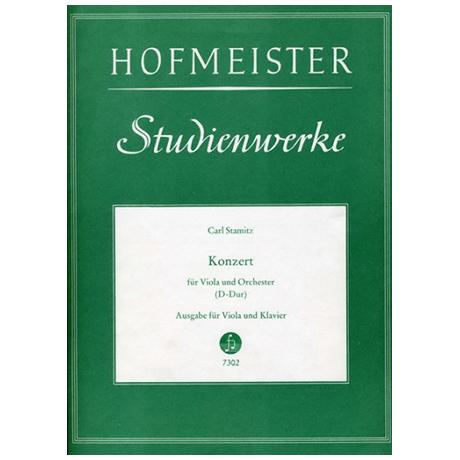 Stamitz, K.: Konzert für Viola und Orchester D-Dur