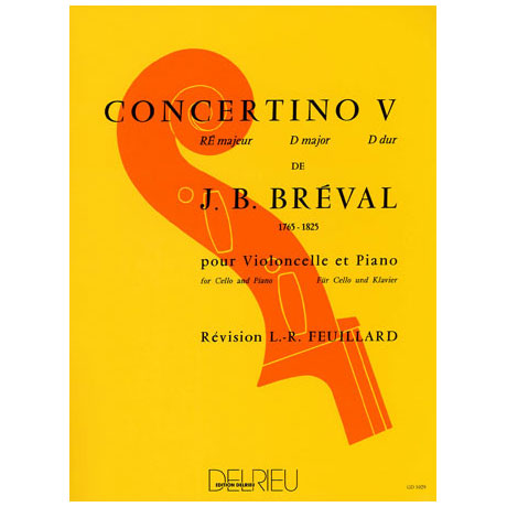 Bréval, J. B.: Concertino Nr. 5 D-Dur