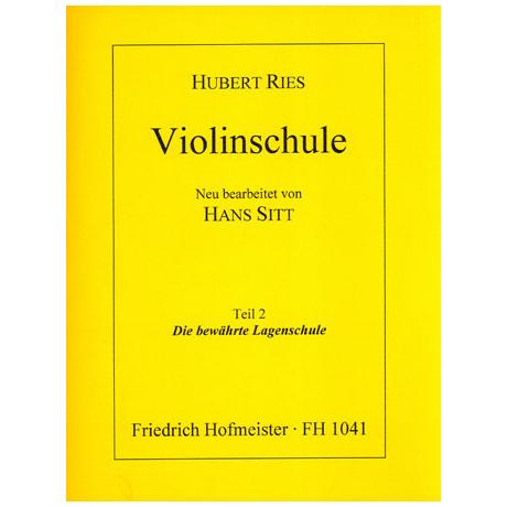 Ries, H./Sitt, H.: Violinschule Teil 2