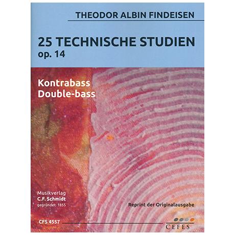Findeisen, Th. A.: 25 technische Studien Op.14