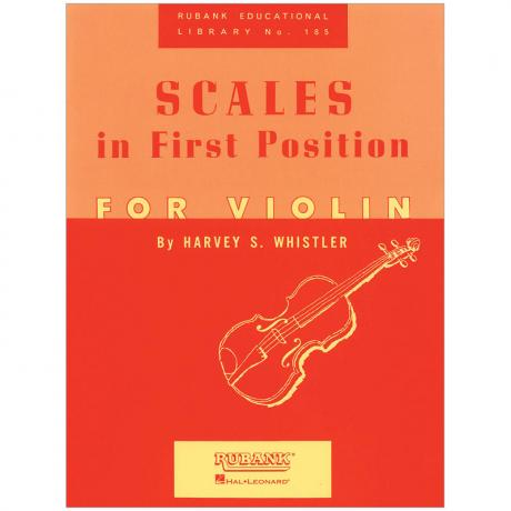 Whistler, H. S.: Scales in First Position