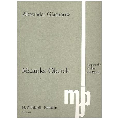 Glasunow, A.: Mazurka Oberek