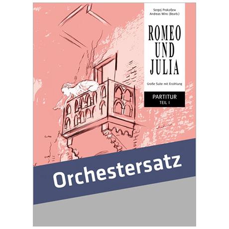 Prokofjew, S.: Romeo und Julia – Partitur und Stimmensatz
