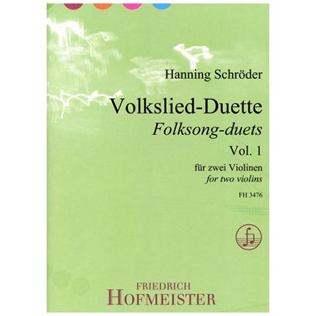 Schröder, H.: Volkslied-Duette Band 1