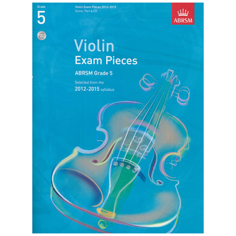 ABRSM: Selected Violin Exam Pieces Grade 5 (2012-2015) (+CD)