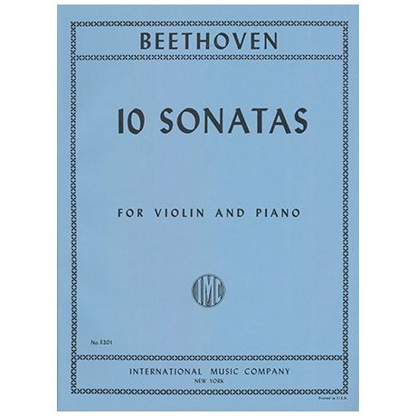 Beethoven, L.v.: 10 Sonatas (Francescatti)