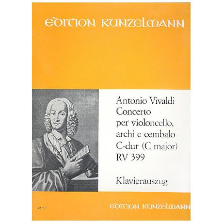 Vivaldi, A.: Violoncellokonzert PV 33 / RV 399 / F.3:6 C-Dur