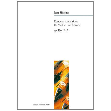 Sibelius, J.: Rondeau romantique Op. 116/3