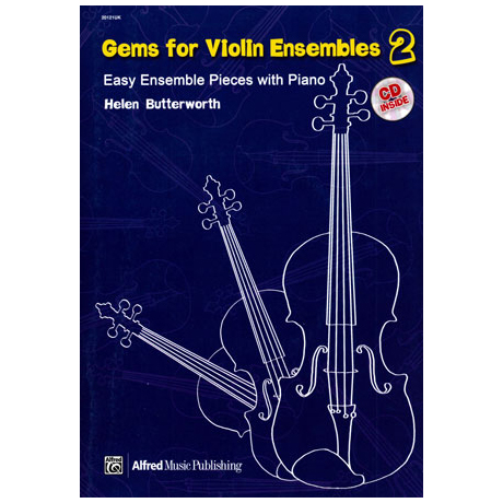 Butterworth, H.: Gems For Violin Ensembles Band 2 (+CD)