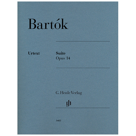 Bartók, B.: Suite Op. 14
