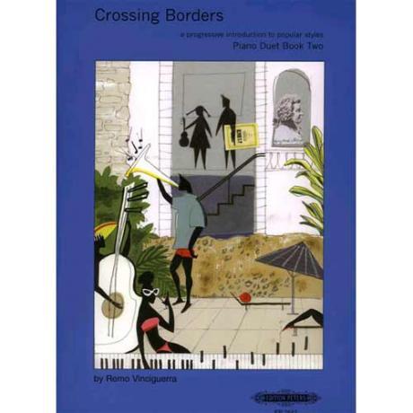 Crossing Borders 4-händig Heft 1: 6 erste Stücke