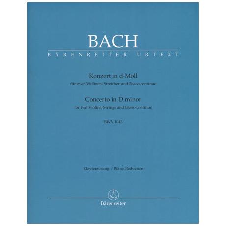 Bach: Doppelkonzert d-moll BWV1043