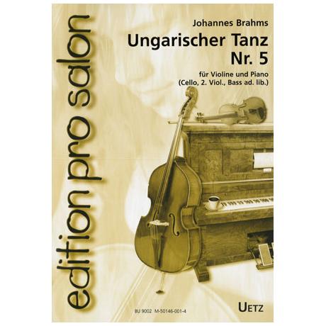 Brahms, J.: Ungarischer Tanz Nr. 5