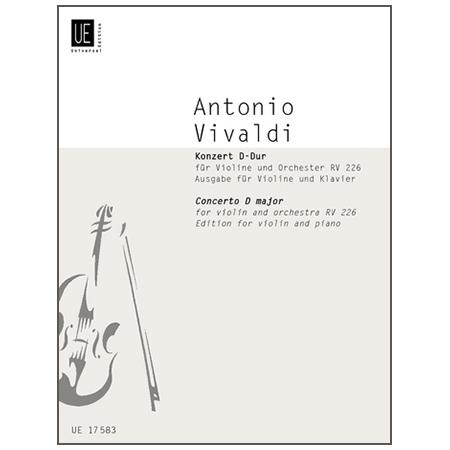Vivaldi, A.: Violinkonzert Fanna I/129 RV 226 D-Dur
