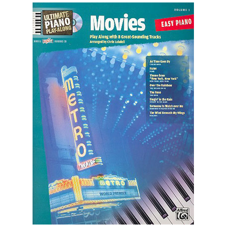 Ultimate Piano Play-Along – Movies (+CD)